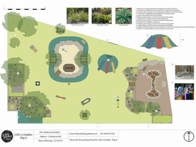 Glenhaven Kindalin<br>Playground Landscaping