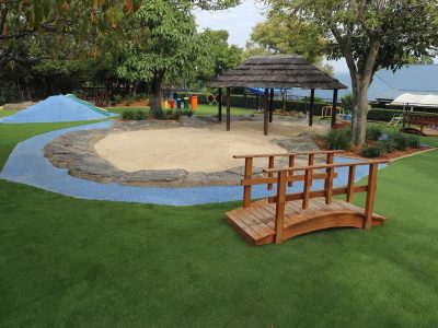 Kindalin Glenhaven<br>Playground Landscaping