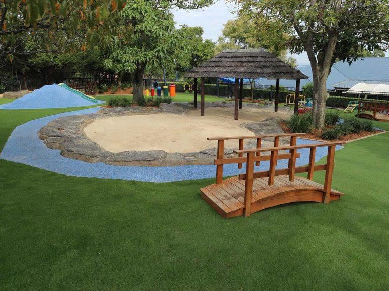 Kindalin Glenhaven<br>Playground Landscaping