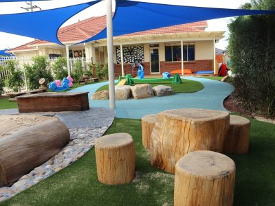 Kindalin Kellyville<br>Playground Landscaping